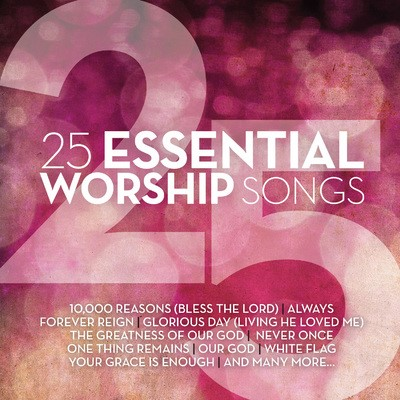 25 Essential Worship Songs (CD)