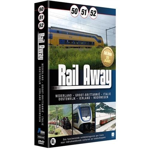 Rail Away Box (50 /51/ 52) (DVD)