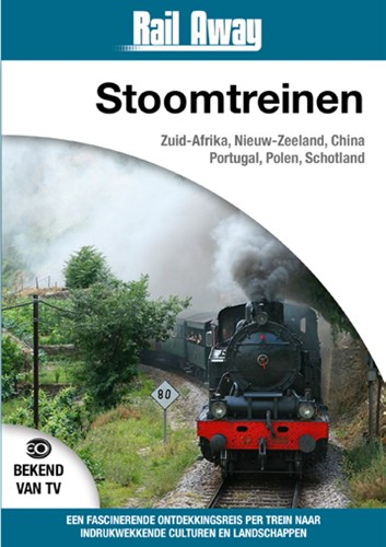Rail Away Stoomtreinen (DVD)