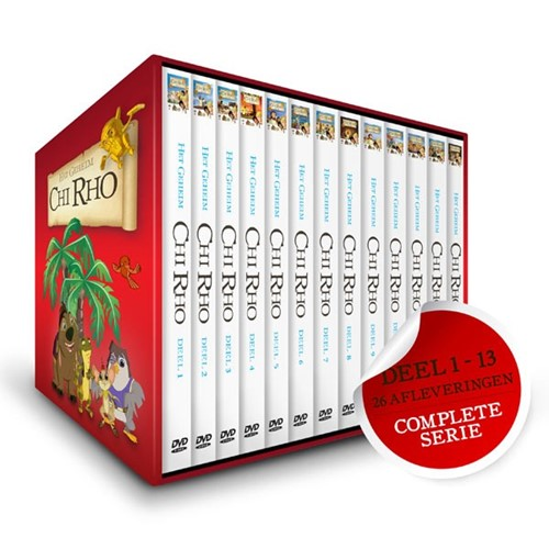 Chi Rho hele serie (DVD)