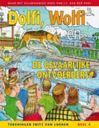 Dolfi, Wolfi en de gevaarlijke ontvoerders (Boek)