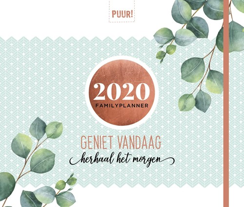 PUUR! Familyplanner 2020 (Paperback)
