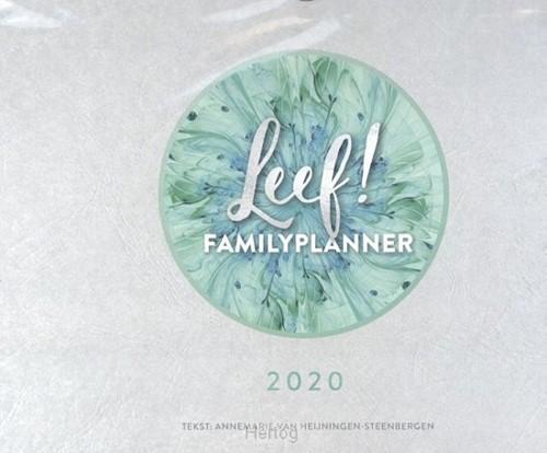LEEF! Familieplanner 2020 (Boek)