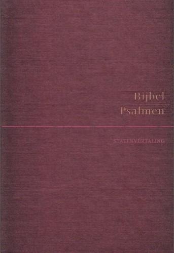 Bijbel, SV, met Psalmen bordeaux rood (Hardcover)