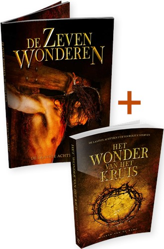 Pakket Het wonder van het kruis & De zeven wonderen (glossy)