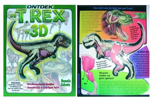 Ontdek de T-Rex in 3D (Hardcover)