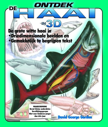 Ontdek de haai in 3 d (Hardcover)