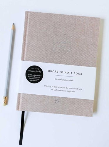 Quote to Notebook (Hardcover)