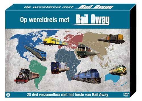 Op wereldreis met Rail Away (BOXSET) (DVD)