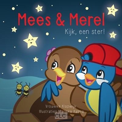 Mees & Merel Kijk, een ster! (Boek)