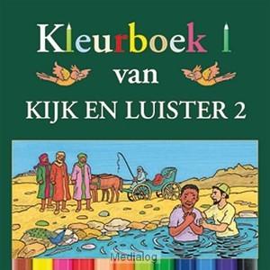 Kleurboek Kijk en Luister 2 (Geniet)