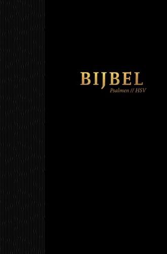 Bijbel (HSV) met Psalmen - hardcover zwart (Hardcover)
