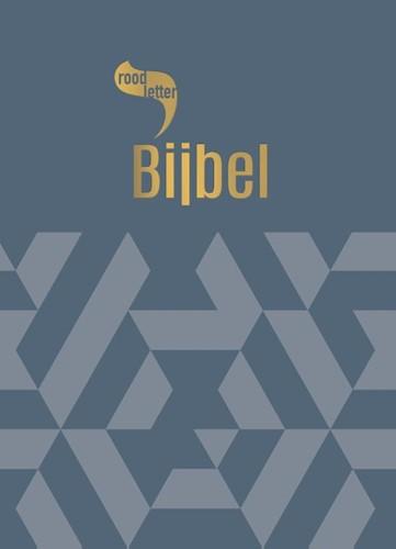 RoodletterBijbel - design grafisch (Hardcover)