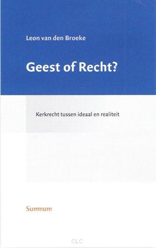 Geest of Recht? (Hardcover)