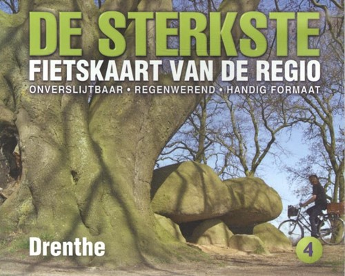 De sterkste fietskaart van de regio / Drenthe (Kaartblad)