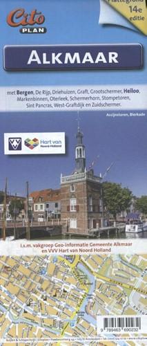 Plattegrond Alkmaar (Kaartblad)