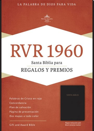 RVR gift & award bible black imitation l (Boek)
