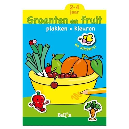 Groenten en fruit 2-4 jaar (Paperback)