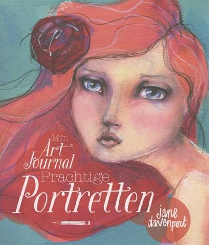 Mijn art journal prachtige portretten (Paperback)