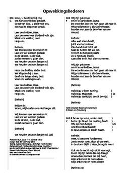 Opwekking tekstaanvulling 43 (820-831) (Losse bladen/Geniet)