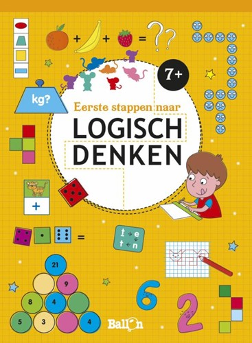 Eerst stappen naar logisch denken 7+ (Paperback)