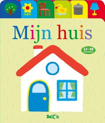 Kartonboek mijn huis (Hardcover)