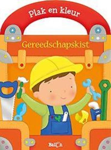 Stickerkoffer gereedschapskist (Boek)