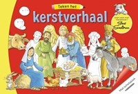 Teken het kerstverhaal (Boek)