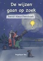 De Wijzen gaan op zoek (kerstkleurboek) (Boek)