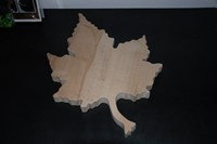 Snijplank/Decoplank Maple Leaf, Beuken - Vader U bent goed (Hout)