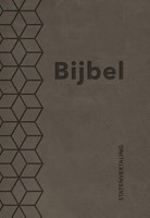 Bijbel (SV) met psalmen (ritmisch) - taupe