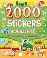 2000 stickers Boerderij (Boek)