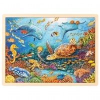 Puzzel Great Barrier Reef, 96st (Hout)
