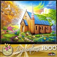 Puzzel Serenity Church (1000 stukjes) (Puzzel)