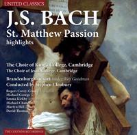 St. Matthew Passion Highlights (J.S. Bac (CD)