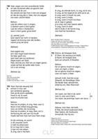 Opwekkingsliederen Tekstaanvulling 45 (Grootletter/A4) (Losbladig)