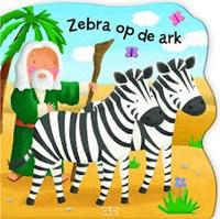 Zebra op de ark