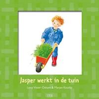 Jasper werkt in de tuin (Hardcover)