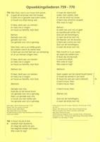 Ongeperforeerd nummers 759-770 (Losse bladen/Geniet)