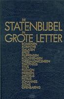 De StatenBijbel in grote letter (Hardcover)