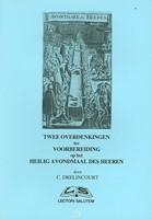 Twee overdenkingen heilig avondmaal (Boek)