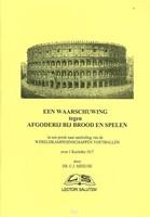 Waarschuwing tegen afgodery brood spelen (Boek)