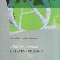 Bijbelcommentaar Galaten t/m Filemon