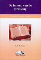 De inhoud van de prediking