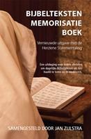 Bijbelteksten memorisatie-boek