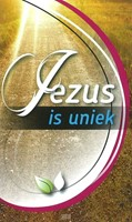 Jezus is uniek / folder / set 25 (Losse bladen/Geniet)