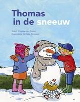 Thomas in de sneeuw