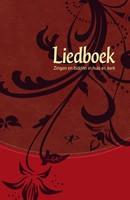 Liedboek - rood kunstleer
