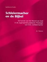 Schleiermacher en de Bijbel (Hardcover)
