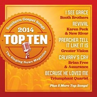 Singing News Top Ten Southern Gospel Songs (CD)